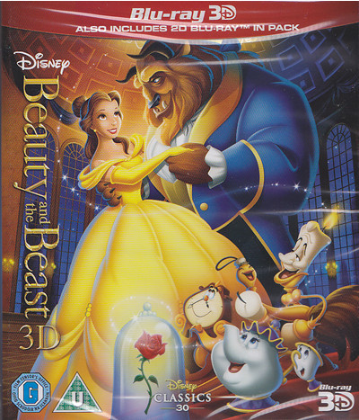 beauty and the beast disney classic blu-ray