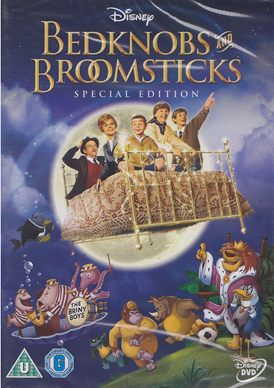 bedknobs and broomsticks dvd cover