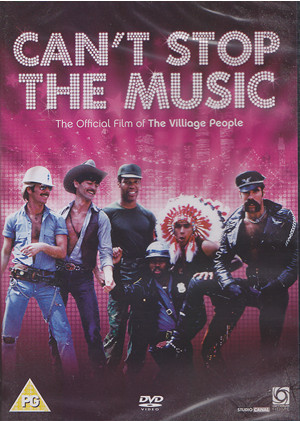 can't stop the music dvd cover