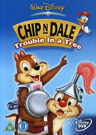 chip n dale trouble tree dvd cover