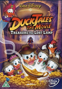 ducktales the movie dvd cover