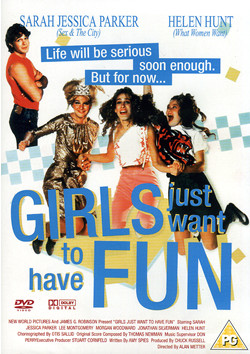 girls just want to have fun dvd cover