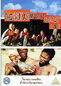 gods must be crazy dvd cover