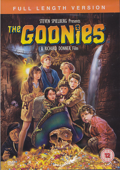 the goonies dvd cover