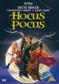 hocus pocus dvd cover