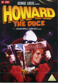 howard the duck dvd cover