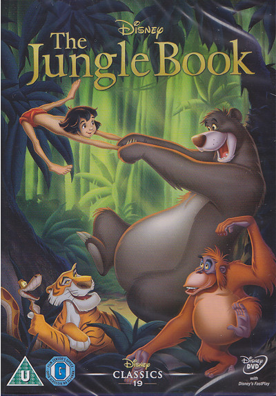 jungle book dvd cover