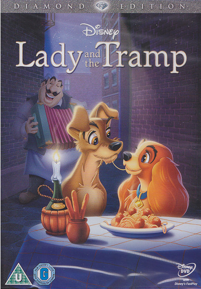 lady and the tramp dvd cover