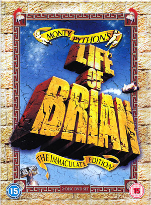 life of brian dvd cover