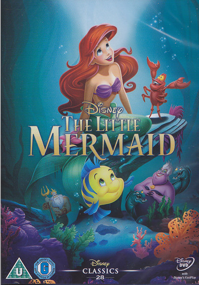 disney little mermaid dvd cover