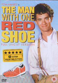 man with one red shoe dvd cover