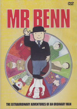 Mr Benn - 5 episodes NEW R2 DVD - Film and TV Favourites