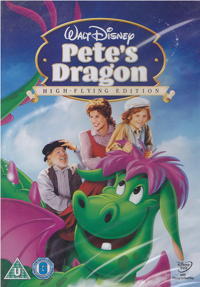 pete's dragon dvd cover