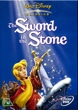 sword in the stone disney dvd cover