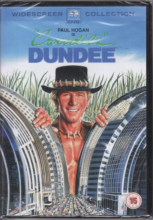 crocodile dundee dvd cover
