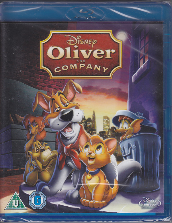 oliver and company bluray cover
