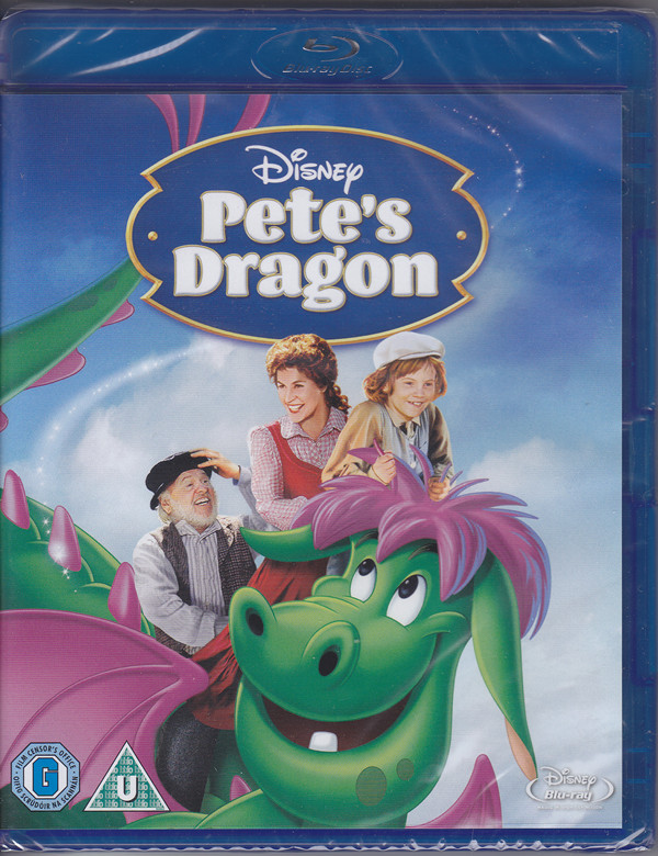 Petes dragon mickey rooney disney bluray cover