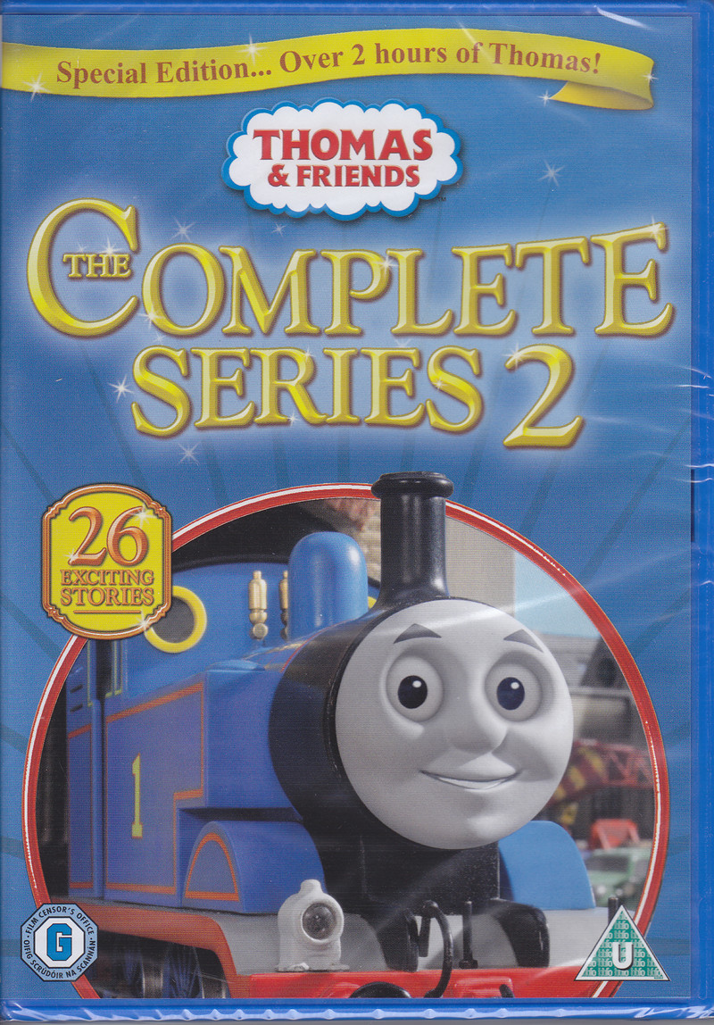 thomas the tank engine and friends series 2 dvd cover