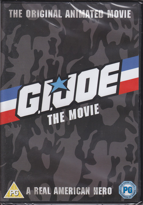 gi joe movie cartoon dvd